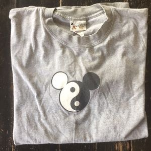 Walt Disney Mickey Mouse ying yang shirt